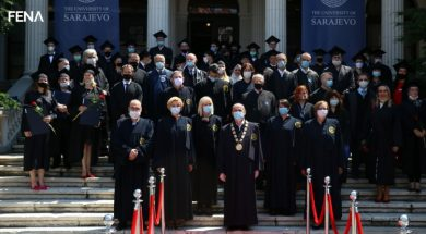 Univerzitet u Sarajevu promovirao 38 doktora nauka (VIDEO)
