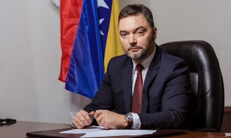 Košarac u Zagrebu: Trgovska gora glavna tema sastanka s ministrom Ćorićem