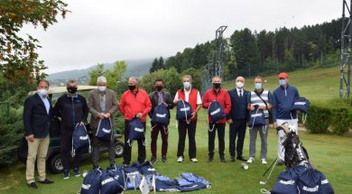 Olimpijski komitet BiH uručio vrijednu opremu golferima