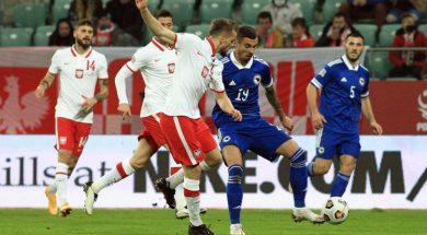 Poraz nogometaša BiH u Poljskoj