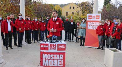 Bh. blok otvorio izbornu kampanju u Mostaru