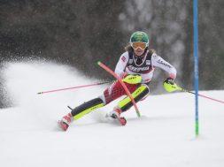 Slalom u Leviju