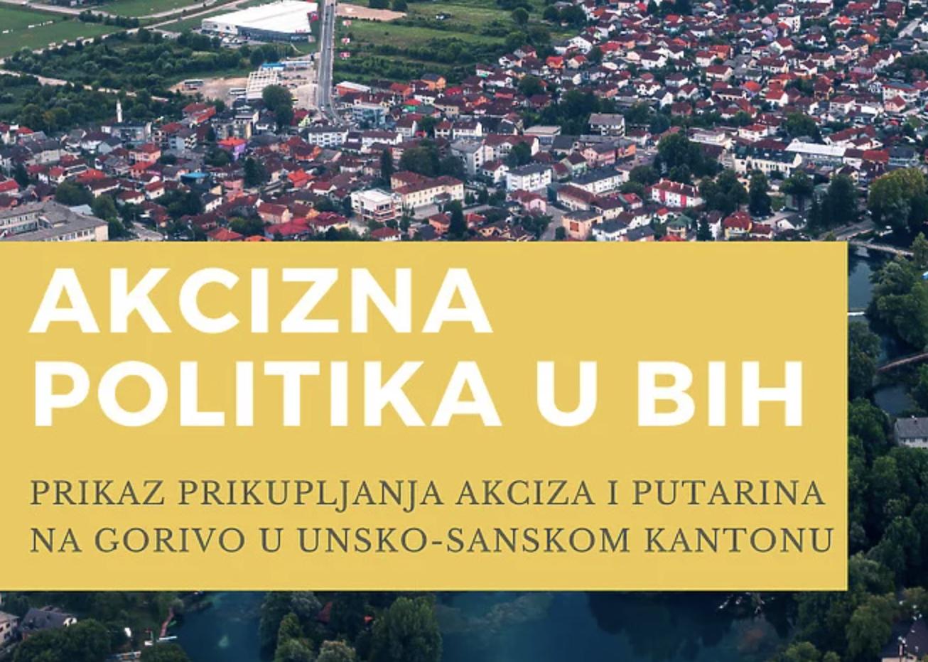 Akcizna politika u BiH: Koliko su građani USK uplatili akciza na gorivo, a koliko im se to vratilo