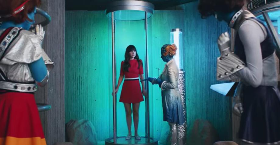 Zooey Deschanel mijenja Katy Perry u njenom novom spotu
