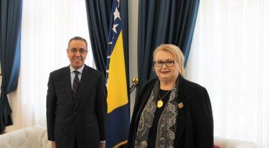 Turković i egipatski ambasador