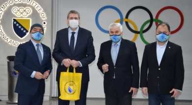 Avdić sa predstavnicima Olimpijskog komiteta BiH o intenziviranju saradnje