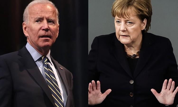 Merkel i Biden razgovarali o jačanju odnosa između Njemačke i SAD-a