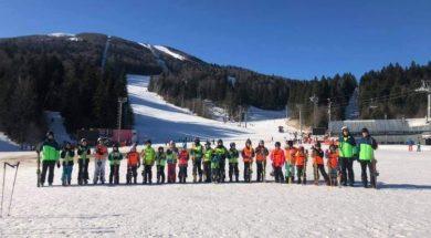 Udruženje pedagoga sporta Goražde realizuje Školu skijanja na Igmanu