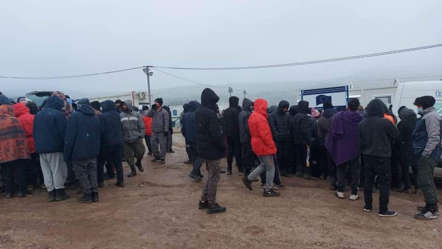 """Uslovi za boravak migranata u kampu """"Lipa"""" znatno poboljšani (VIDEO)"""