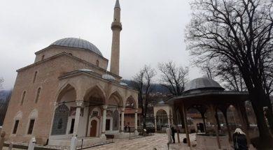 Nepoznata osoba pucala u munaru Aladža džamije u Foči