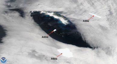Raspao se jedan od najvećih ledenjaka u novijoj historiji