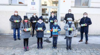Svi osnovci u Beču dobili besplatne maske