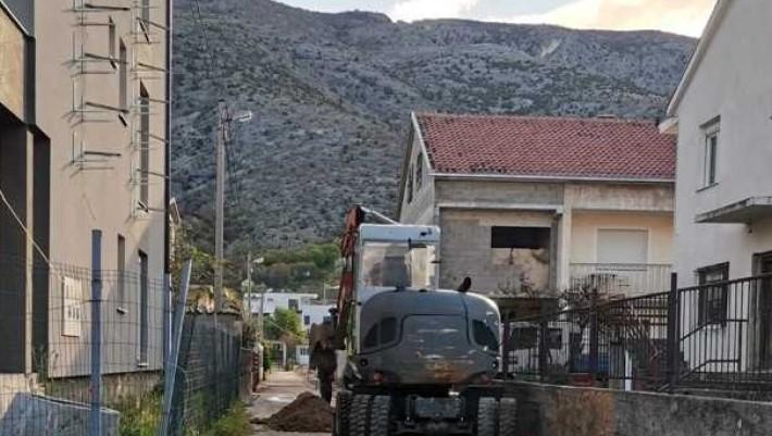 Grad Mostar počeo s izgradnjom kanalizacijske mreže naselja Opine