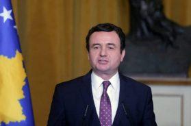 Albin Kurti, premijer Kosova
