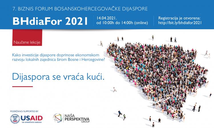 Održan biznis forum bh. dijaspore s porukom ¨Dijaspora se vraća kući¨