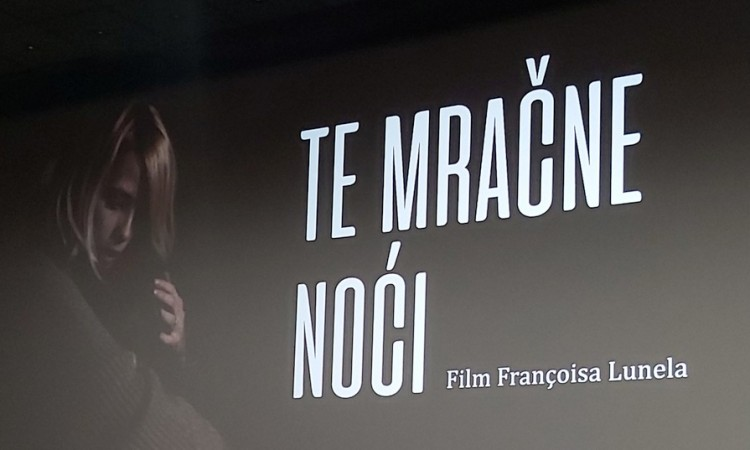 U Tuzli prikazan francusko-bosanski film ¨Te mračne noći¨