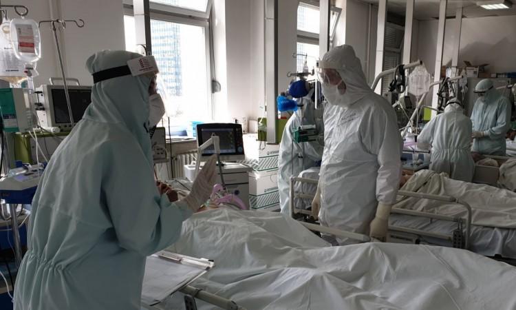 Blagi pad priliva pacijenata u Covid odjel Opće bolnice u Sarajevu