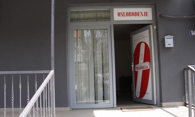 Opljačkane prostorije dopisništva Oslobođenja u Zenici