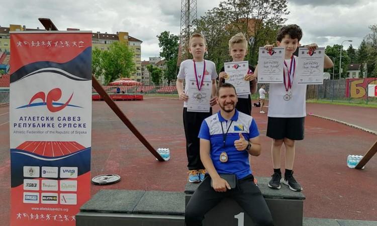Uspješan nastup mladih atletičara Slobode na mitingu ¨Trofej Banja Luke¨