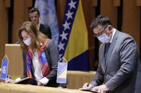Potpisan Okvir saradnje za održivi razvoj UN-a i Bosne i Hercegovine