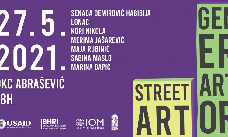 Mostar: Tribina o urbanoj umjetnosti ¨Street Art GenerArtor¨