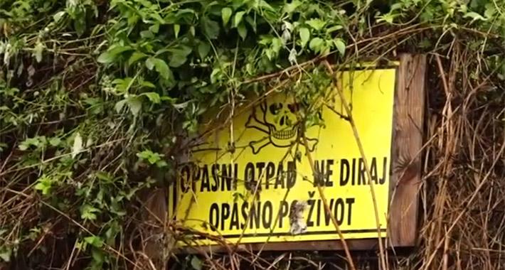 Počelo otkopavanje opasnog otpada u Tuzli: Slijedi analiza, pa odluka o uništavanju