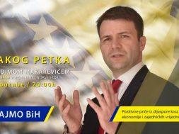 Ambasador Makarević pokrenuo video serijal o suradnji BiH i dijaspore