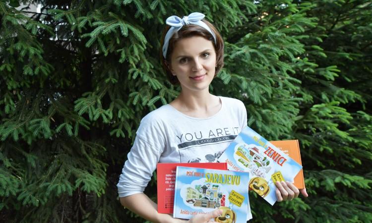 Slikovnice Anide Letić Sikirić, turistički vodič za djecu
