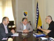 Arnautović informisao Komšića o projektima i planovima unutar BHAAAS-a