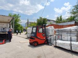 Njemački Crveni križ donirao šatore za migrante Crvenom križu BiH