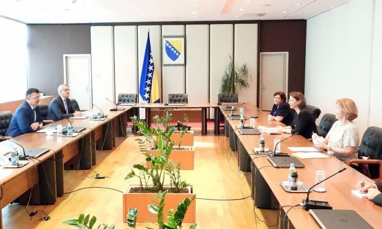 Tegeltija : Velik interes firmi iz BiH za poslovanje sa francuskim kompanijama