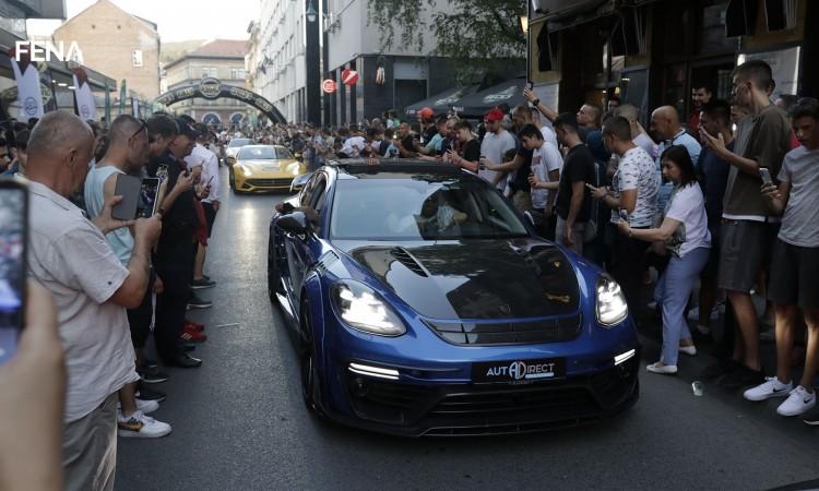 Kroz Sarajevo prodefilovao ¨OneLifeRally¨ karavan sportskih automobila (VIDEO)