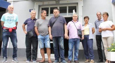 Petnaestak penzionera zeničkih rudnika počeli štrajk glađu