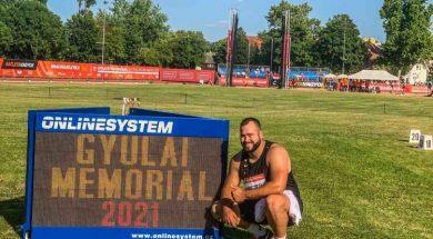 Pezer osvojio šesto mjesto na atletskom mitingu u Mađarskoj