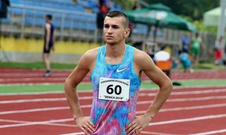 Mujezinović prvi na 800 metara na atletskom mitingu u Zenici