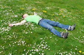 spavanje trava proljeće