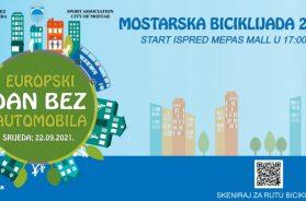 Mostar biciklijadom obilježava Dan bez automobila