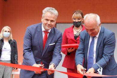 Sattler otvorio novi paviljon u Kazneno-popravnom zavodu Zenica