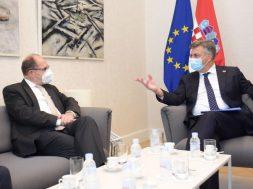 Schmidt i Plenković razmijenili mišljenja o političkoj situaciji u BiH i regionu